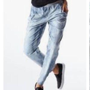 Lucy IndiGo Bleach Spot  Acid Wash Boyfriend Pants